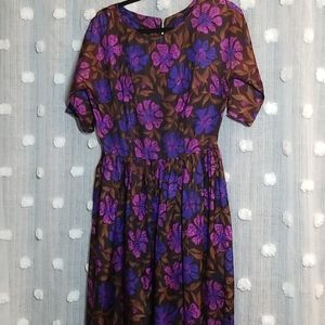 """Vintage 50's Day Dress size Small 28"""" Waist"""